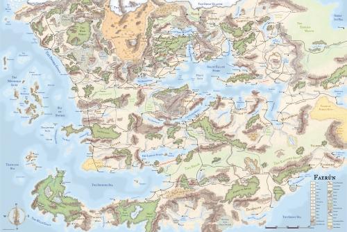 geography   faerun [Cormanthor Wiki]